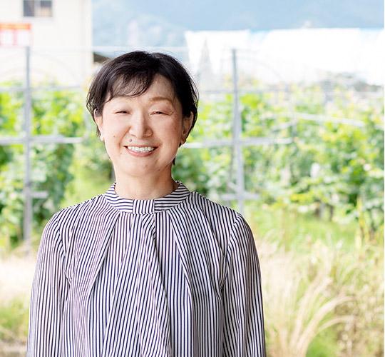 錦城葡萄酒株式会社 代表取締役 高埜 よしみ